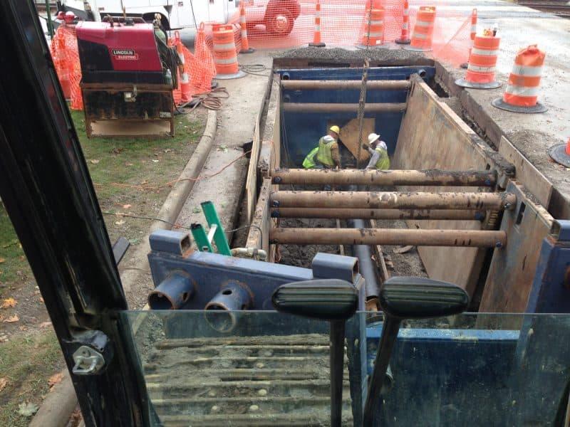 installation underground utility contractors